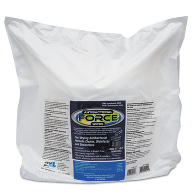 2XL L4014 FORCE Antibacterial Wipes