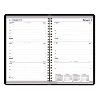 AbilityOne 6007605 SKILCRAFT Weekly Appointment Planner