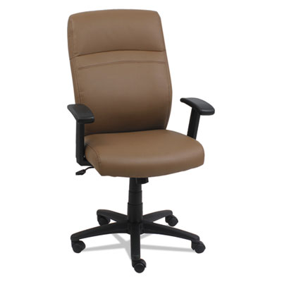 Alera CA4159 High-Back Swivel/Tilt Leather Chair