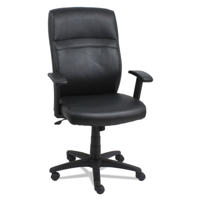 Alera CA4119 High-Back Swivel/Tilt Leather Chair