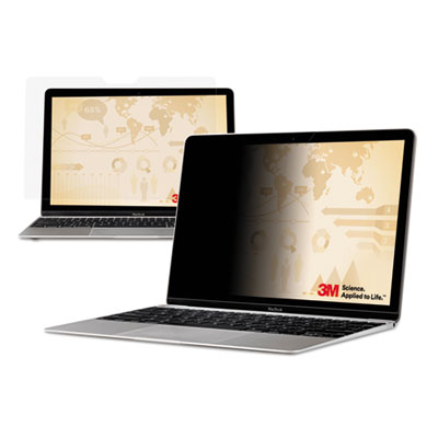 3M PF121C3B Frameless Notebook/Monitor Privacy Filters