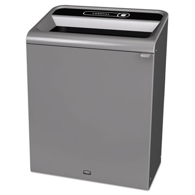 Rubbermaid 1961507 Commercial Configure Indoor Recycling Waste Receptacle