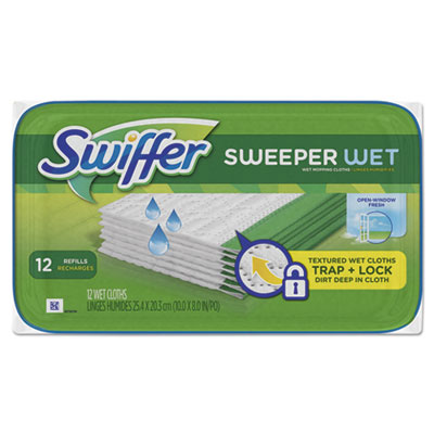 Swiffer 95531pk Wet Refill Cloths
