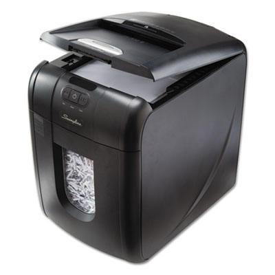 Swingline 1703094 Stack-and-Shred 130XL Auto Feed Super Cross-Cut Shredder Value Pack