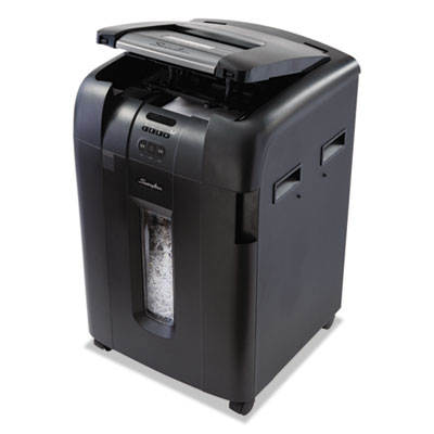 Swingline 1703091 Stack-and-Shred 600XL Auto Feed Super Cross-Cut Shredder Value Pack