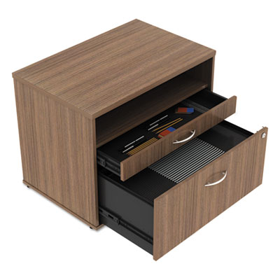 Alera LS583020WA Open Office Desk Series Low File Cabinet Credenza