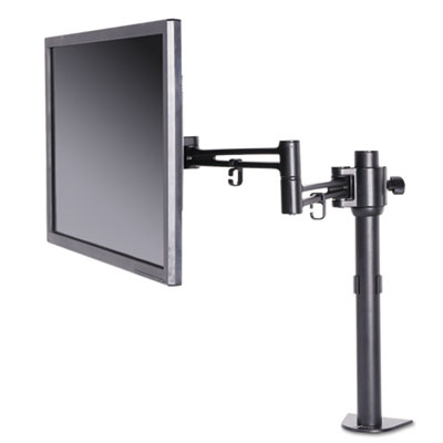 Alera AEMA1B Pole-Mounted Monitor Arm