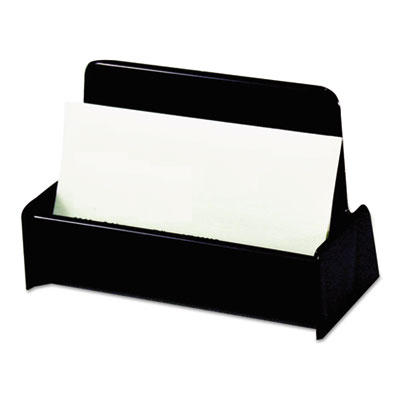 universal 08109 recycled plastic business card holder - Plastic Business Card Holders