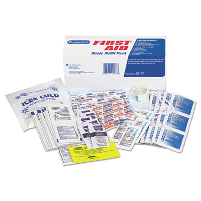 PhysiciansCare 90177 First Aid Refill Kit for 90175