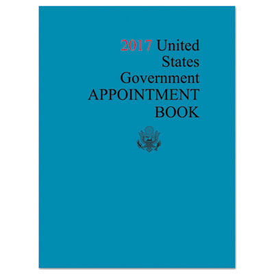 AbilityOne 5453717 Unicor Weekly Appointment Book