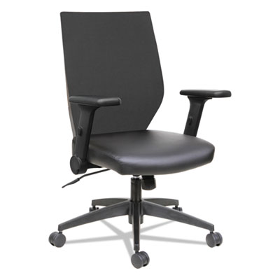 Alera EBT4215 EB-T Series Synchro Mid-Back Flip-Arm Chair