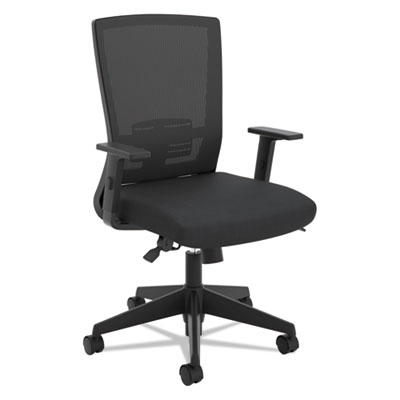 Pleasant Basyx Vl541 Mesh High Back Task Chair Supports Up To 250 Dailytribune Chair Design For Home Dailytribuneorg