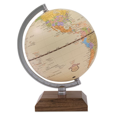 Advantus 30507 Ivory Desk Globe