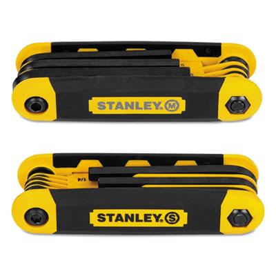 Bostitch STHT71839 Stanley Folding Metric and SAE Hex Keys