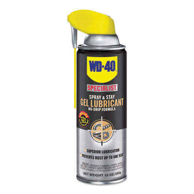 WD-40 300103EA Specialist Spray & Stay Gel