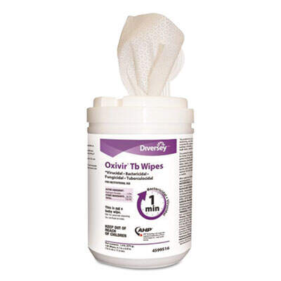 Diversey 4599516 Oxivir TB Disinfectant Wipes