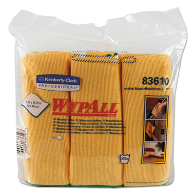 WypAll 83610CT WypAlll Microfiber Cloths