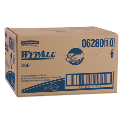 WypAll 06280 WypAll X80 Foodservice Towels