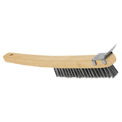 Adcraft WBR14 Wire Brush with Scraper