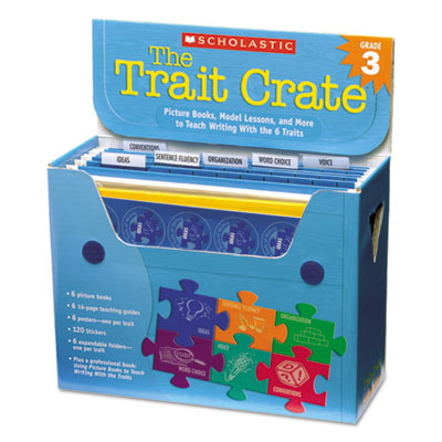 Scholastic 0545837715 The Trait Crate