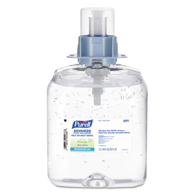 PURELL 509103 Advanced Green Certified Instant Hand Sanitizer Refill