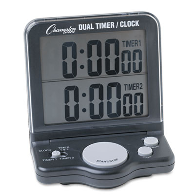 Champion Sports DC100 Dual Timer/Clock