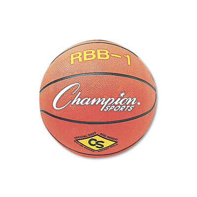 Champion Sports RBB1 Rubber Sports Ball