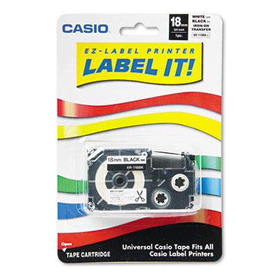 Casio XR118BKS Labels