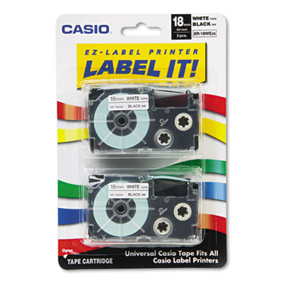 Casio XR18WE2S Labels