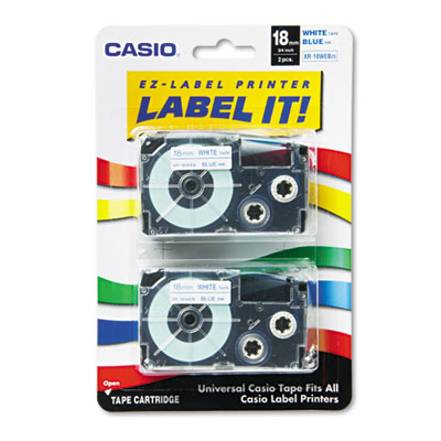 Casio XR18WEB2S Labels