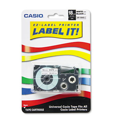 Casio XR18WES Labels