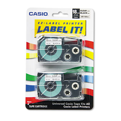 Casio XR18X2S Labels