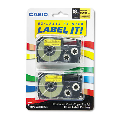 Casio XR18YW2S Labels