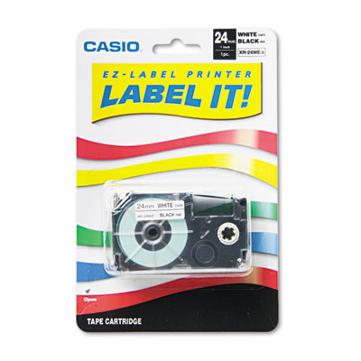 Casio XR24WE Labels