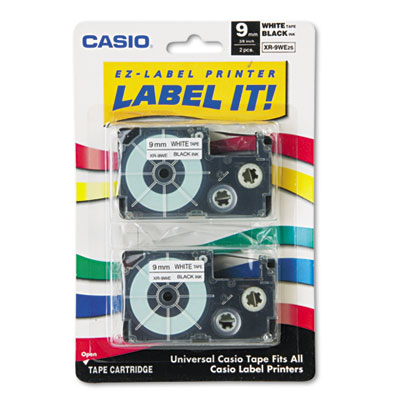 Casio XR9WE2S Labels