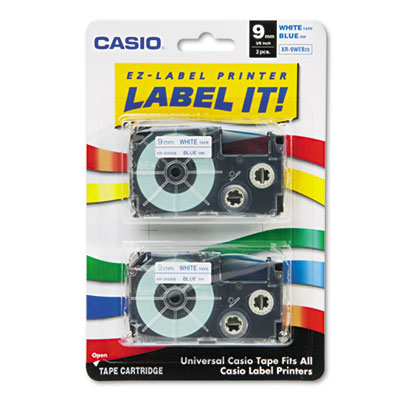 Casio XR9WEB2S Labels