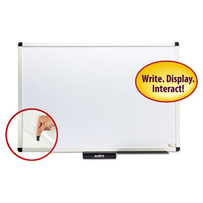 Smead 02571 Justick by Smead White Board with Frame