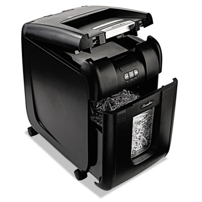 Swingline 1703093 Stack-and-Shred 230XL Auto Feed Super Cross-Cut Shredder Value Pack