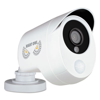 Night Owl One Pack Add-On 1080p Wired HD Analog Security Camera with Heat Based Motion Detection