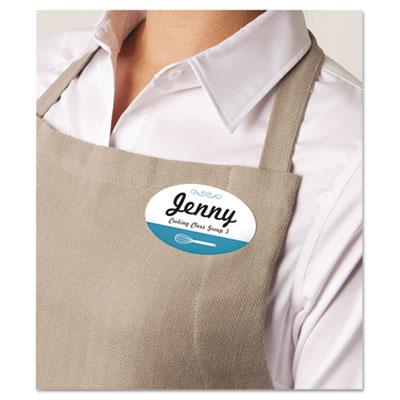 avery 5326 flexible self adhesive name badge labels