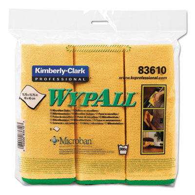 WypAll 83610 WypAlll Microfiber Cloths
