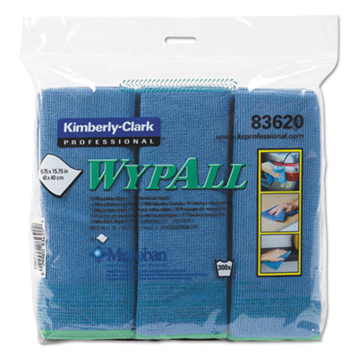WypAll 83620 WypAlll Microfiber Cloths