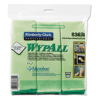 WypAll 83630 WypAlll Microfiber Cloths