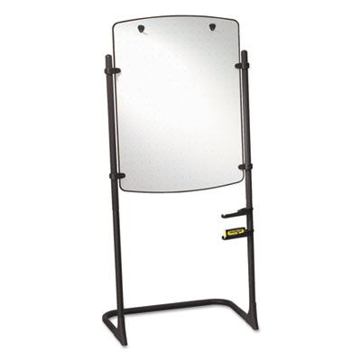 Quartet 120TE High-Style Silhouette Total Erase Presentation Easel