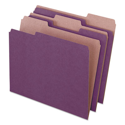 Pendaflex 04335 Earthwise by Pendaflex 100% Recycled Colored File Folders