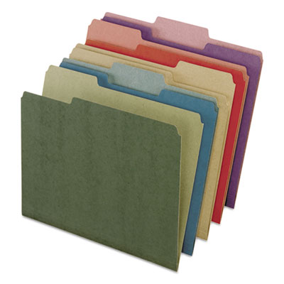 Pendaflex 04350 Earthwise by Pendaflex 100% Recycled Colored File Folders