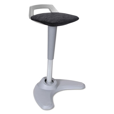 Alera AE36PSBK AdaptivErgo Sit to Stand Perch Stool