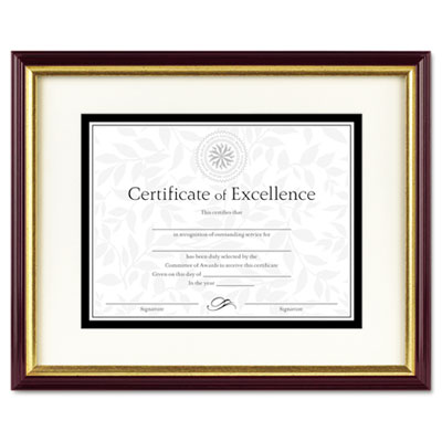 DAX 2703S2RX Two-Tone Document/Certificate Frame