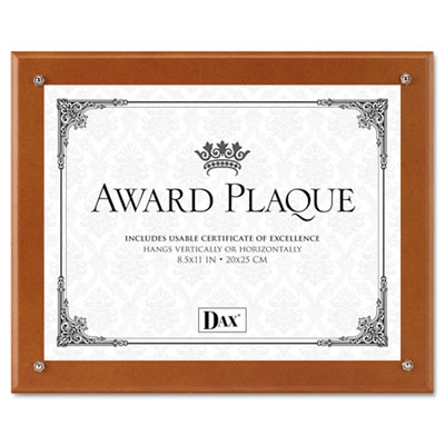 DAX N100WT Plaque-In-An-Instant Award Plaque Kit