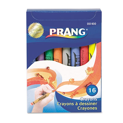 Dixon 00100 Prang Crayons Made with Soy